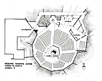 Fig. 11 - Église Sainte-Anne de Ménival. Plan / Paul Cur...